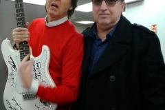 Sir Paul McCartney & Jersey Four member Anthony Newell