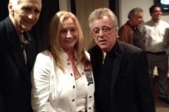 Joe Long, Theresa Newell, and Frankie Valli