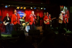 Jersey Four performing with Joe Long