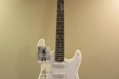 Frankie Valli and The Four Seasons Autograph Fender Guitar