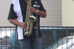 Jazz Great Kenny Blake Soloing