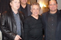 Jersey Four Cast Members with Frankie Valli