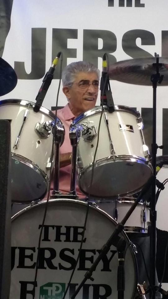 Actor, Musican Frank Vincent Plays Drums with The Jersey Four