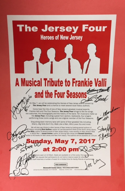Heroes of New Jersey Autographed Poster