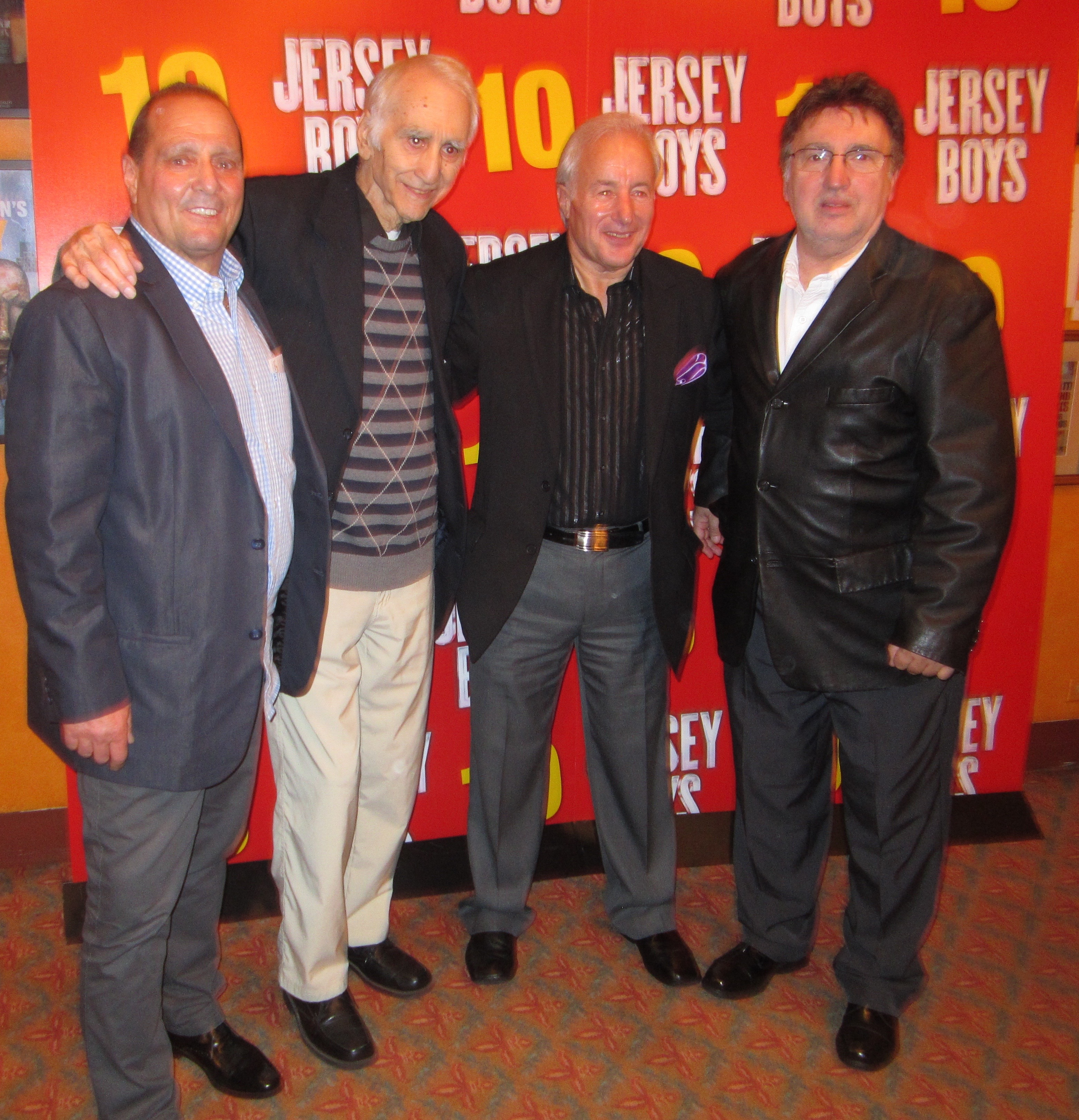 Celebrating 10 years of the Jersey Boys on Broadway