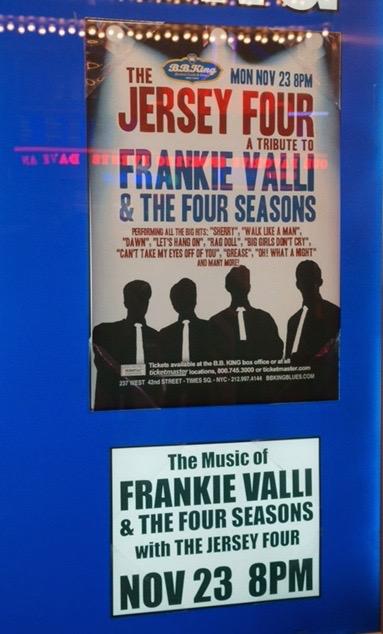 Jersey Four Billboard BBKings NYC