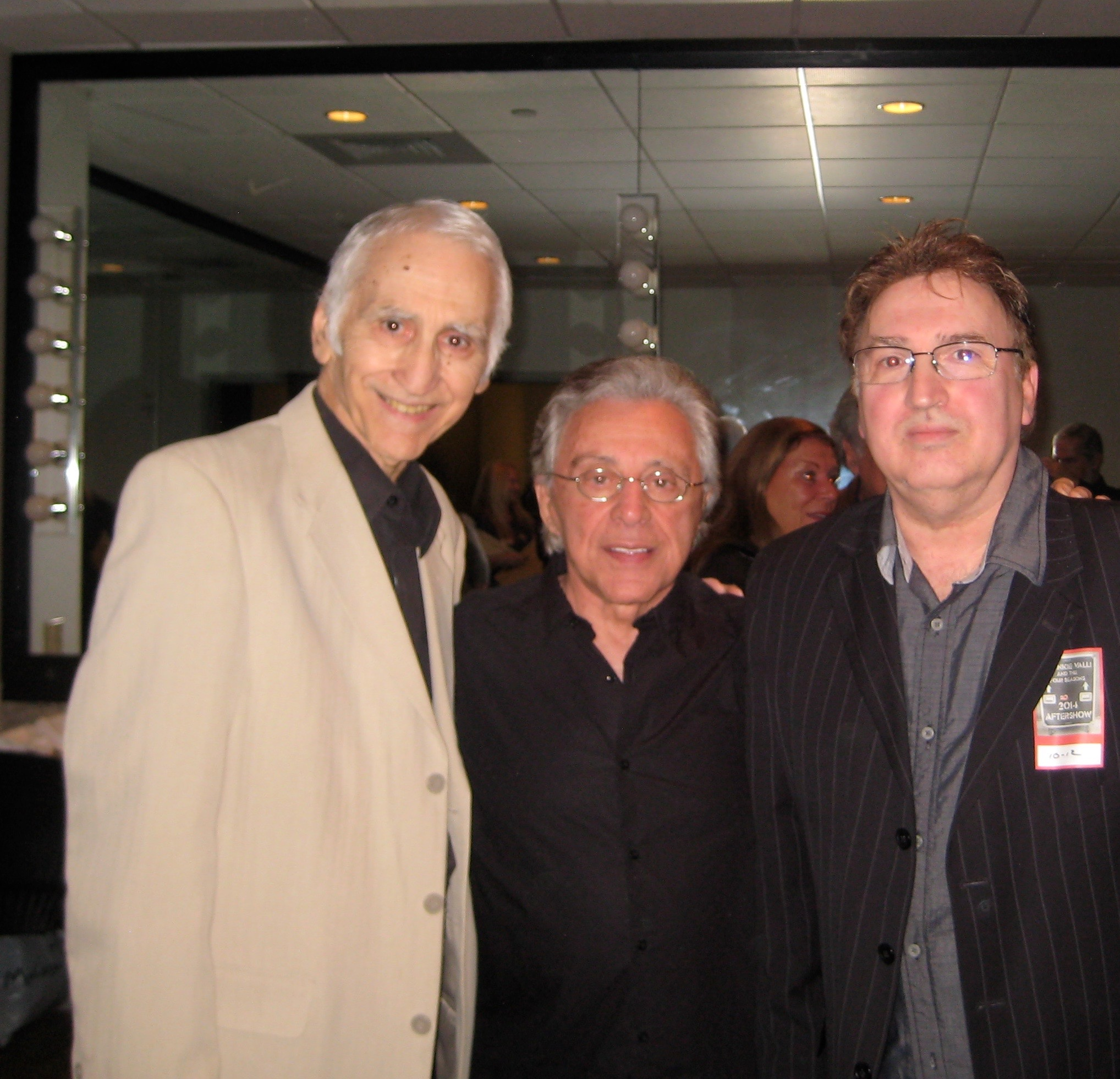 Frankie Valli, Joe Long, Anthony Newell