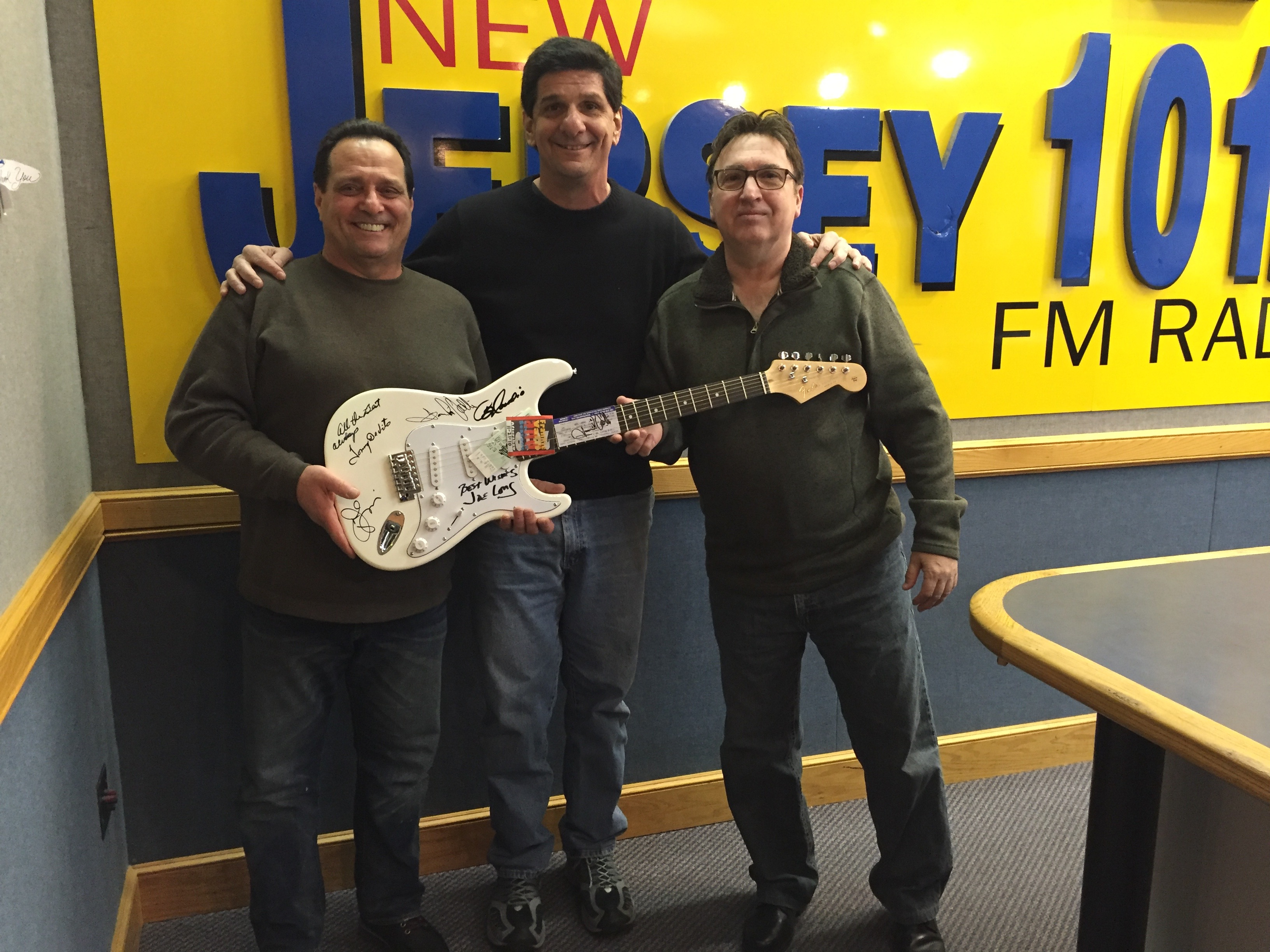 Jersey Four & Steve Trevelise of New Jersey`s 101.5