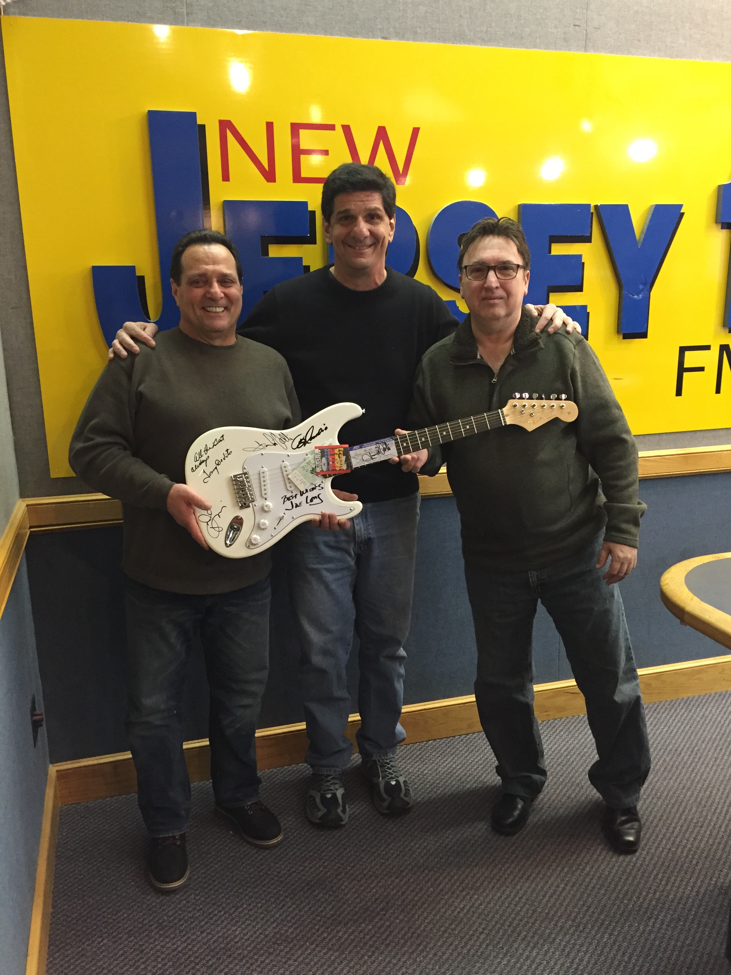 Steve Trevelise of NJ`s 101.5 & Jersey Four Cast Members