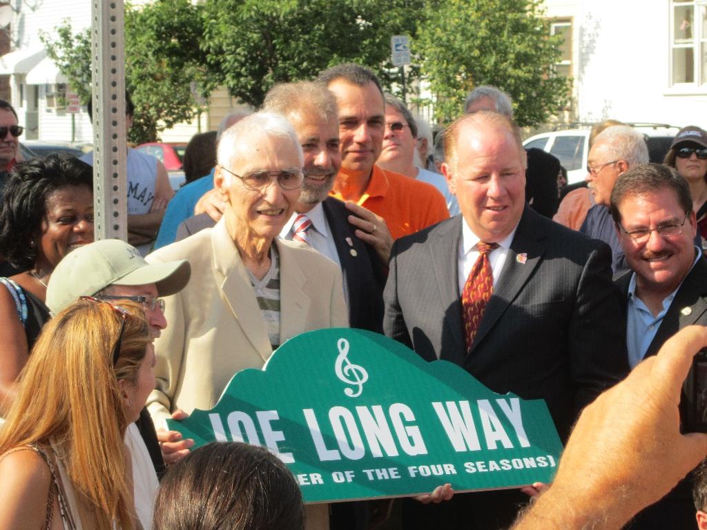 Joe (LaBracio) Long Receives his Dedication