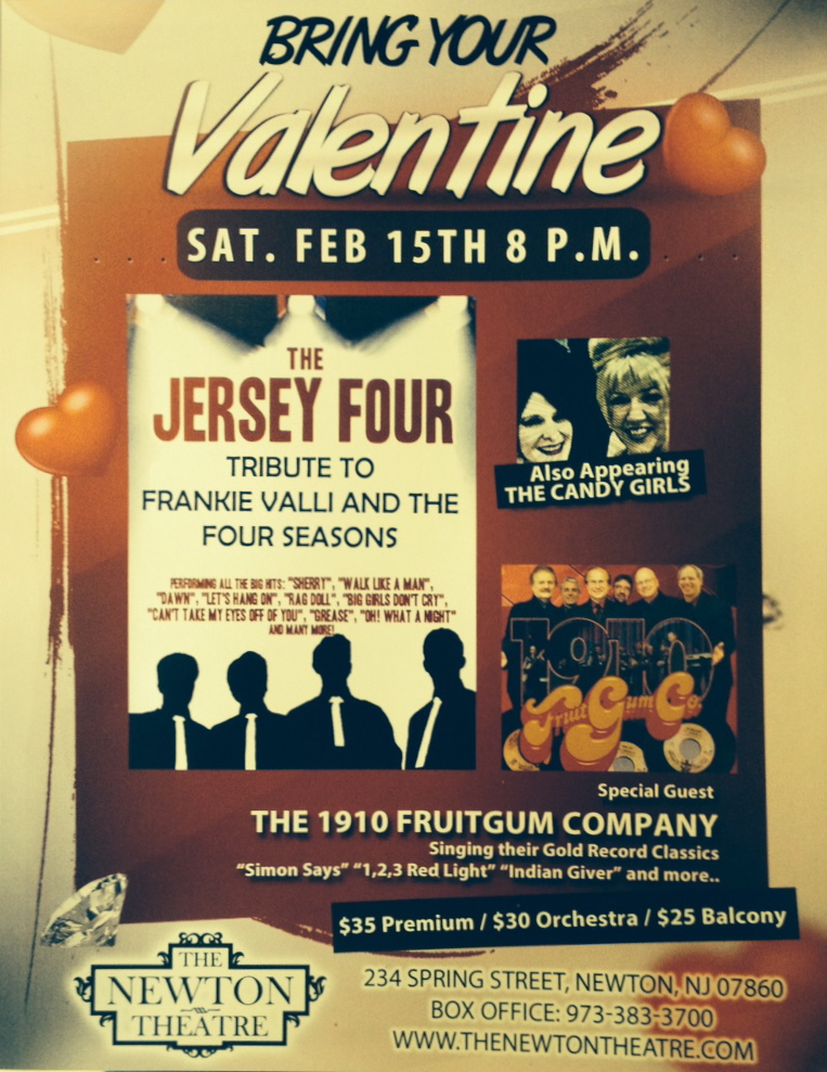 Bring Your Valentine To The Newton Theatre