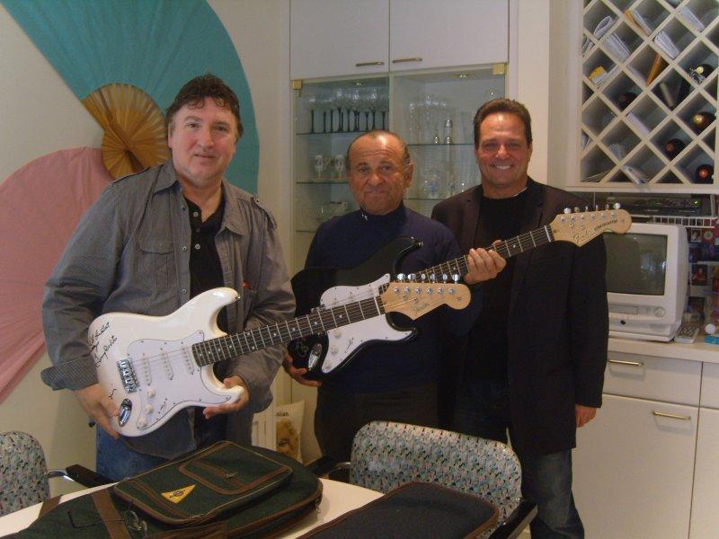 Joe Pesci with Jersey Four Cast Members Tony & Joe