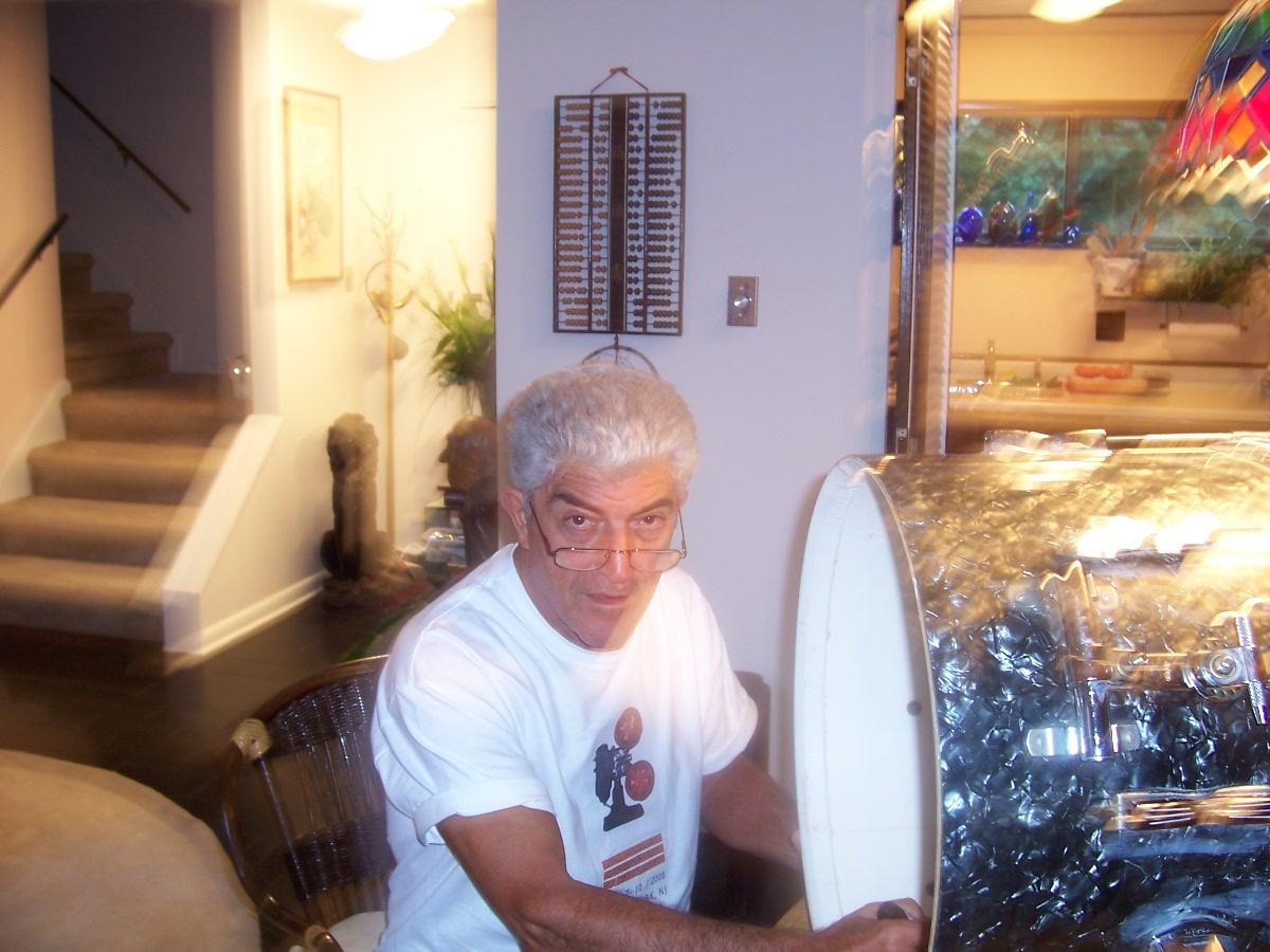 Frank Vincent Autographs Drums
