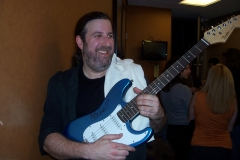 The Spin Doctors Autograph Guitar & Good Friends of The Jersey Four