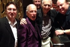 Tony, Jerry, Joe, Robbie, & Friend
