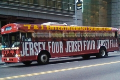The Jersey Four Tour Bus