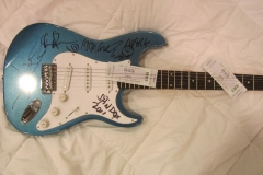 Spin Doctors Autograph Guitar