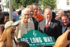 Joe (LaBracio) Long Receives his Dedication