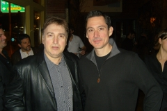 Jersey Four`s Cast Member with Spin Doctor`s Manager