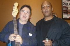 Spin Doctor`s Bass Player with Jersey Four`s Drummer