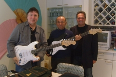 Joe Pesci with Jersey Four Cast Members Tony & Joe